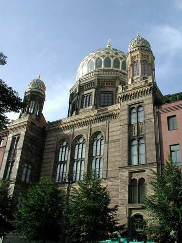 בית הכנסת החדש בברלין, גרמניה