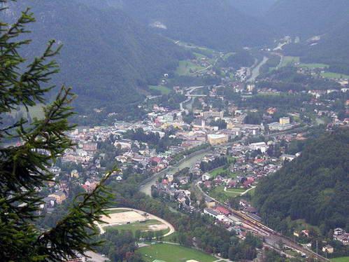 עיירת המרפא באד אישל, אוסטריה