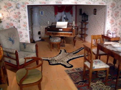 חדר השינה של סיסי במוזיאון בארמון הופמובילנדפוט