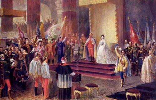 כנסיית מטיאש, טקס ההכתרה של מלך ומלכת הונגריה