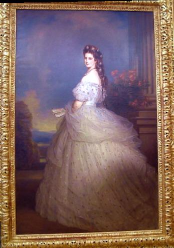 הנסיכה סיסי בארמון הופבורג, אוסטריה