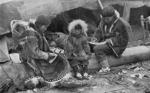 בני האינואיט בגרינלנד, 1917