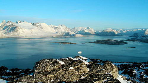 פיורד בדרום גרינלנד