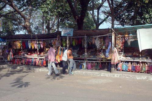 שוק תיירותי במבצר קוצ'ין