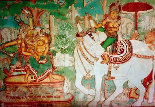 מהתמונות המצוירות בארמון מאטאנצ'רי
