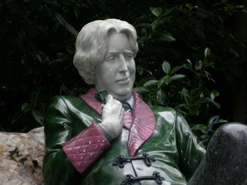 פיסלו של אוסקר ווילד בדבלין, אירלנד