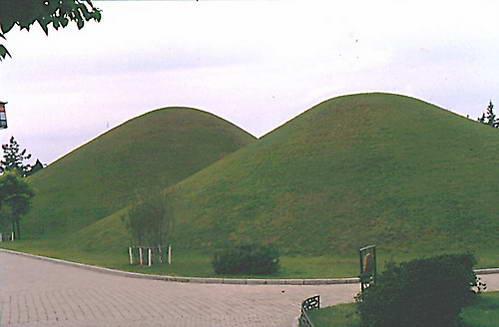 גבעות קבורה של שושלת מלכי שילה, דרום קוריאה
