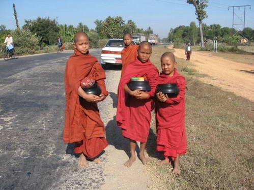 הנזירים המיאנמריים