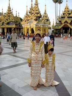 אנשי הזהב – בלבושם ובליבם, מיאנמר