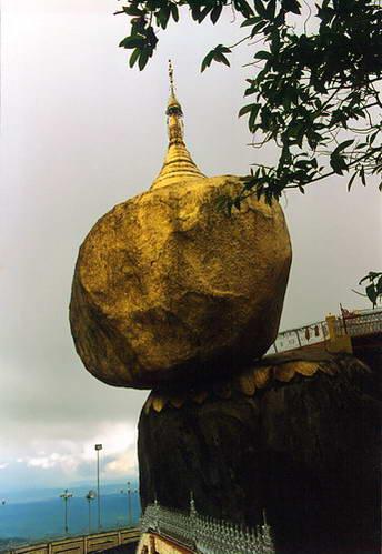 פגודת הסלע המאוזן בקיאיטו, מסמלי מיאנמר
