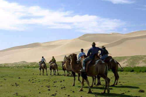 ערבות מונגוליה ודיונות חול