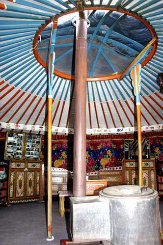 אוהל גר מונגולי