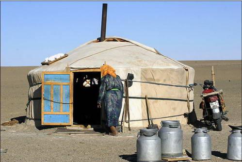 אנשי המדבר המונגולי