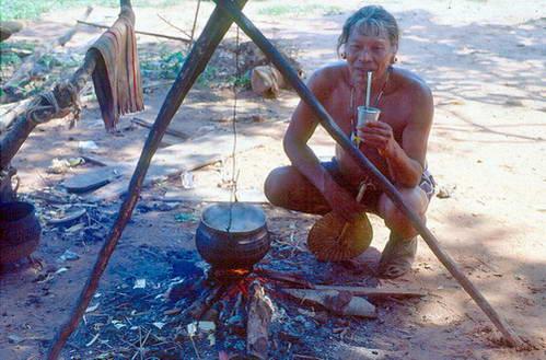 אינדיאני משבט גווארני, פרגוואי