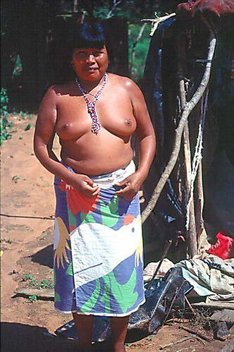 אשת שבט הגווארני, פרגוואי