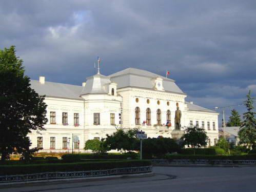 העיר טורדה, בית העירייה