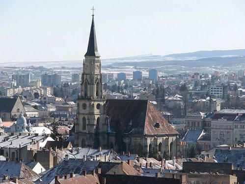 העיר קלוז' נפוקה וכנסיית בנט מיכאל
