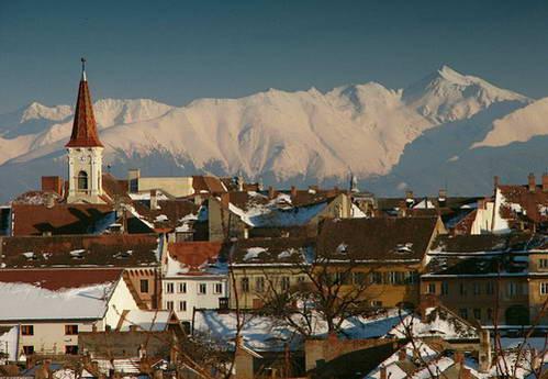 העיר סיביו, טרנסילבניה, רומניה