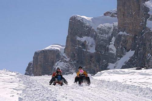 מזחלות שלג במעבר גמי, ספורט חורף גם למי שאינו גולש סקי