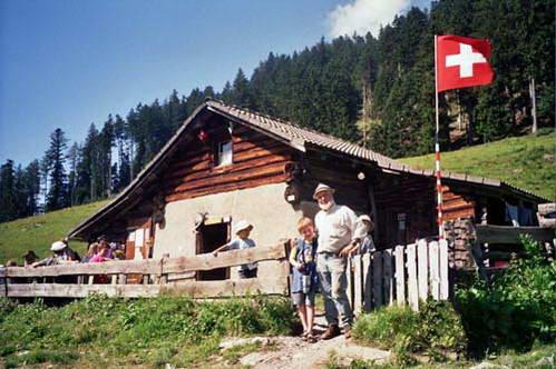 סבא של היידי בת ההרים, היידילנד, מזרח שוויץ