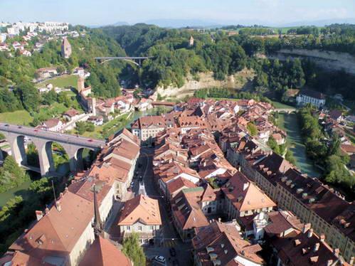 פריבורג, אזור האגמים - ערים עתיקות מהיפות בשוויץ