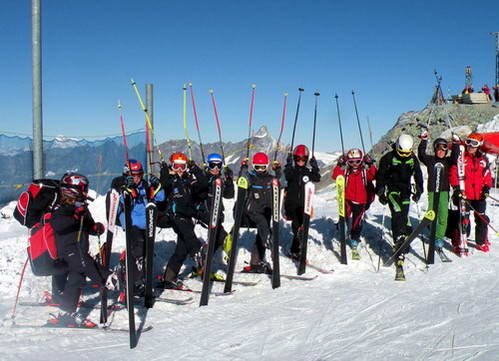 סקי קיץ בצרמט