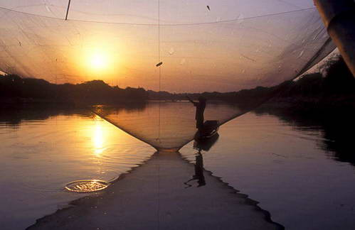 דיג בצפון תאילנד