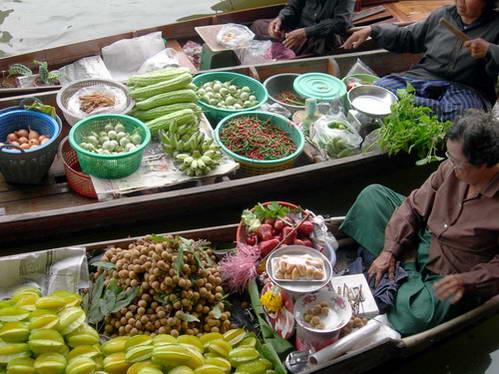 השוק הצף, בנגקוק