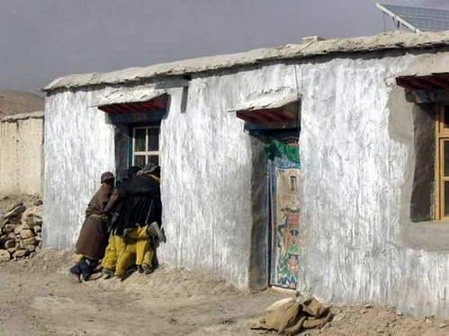 בית היחיד בו היה חשמל המיוצר באנרגיה סולרית