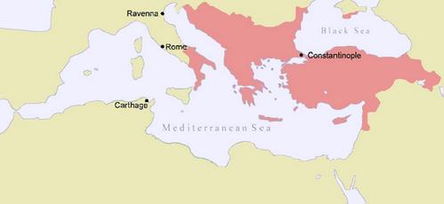אימפריה הביזנטית בשנת 1025