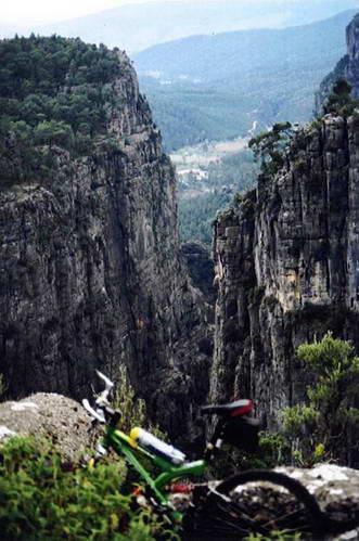 קניון הקופרולו במבט מלמעלה, טורקיה