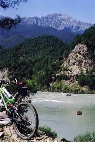 ראפטינג על נהר הקופרולו, טורקיה