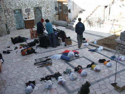 ציוד לטיפוס על החסן-דא, טורקיה