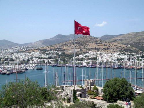 נמל בודרום, נופש בטורקיה
