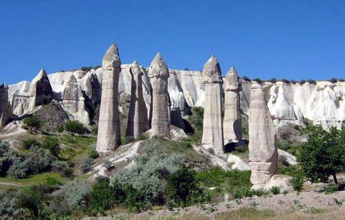 עמודי קונוס בקפדוקיה, טורקיה