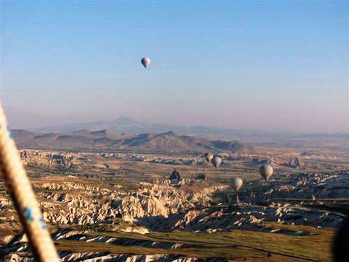 הכדורים הפורחים בשמי קפדוקיה, טורקיה