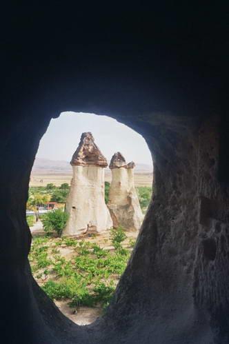 טורקיה, קפדוקיה, עמודי הפיות