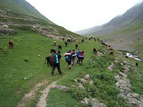 טרק בהרי הקצ'קר, טורקיה