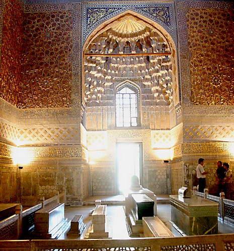 קברם של טימור ומרבית בני שושלתו בסמרקנד