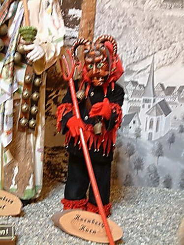 במוזיאון המכשפות, אוסטריה
