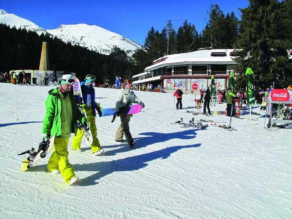 חופשת סקי, סקידיל, בנסקו