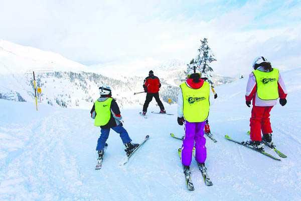 חופשת סקי, סקידיל