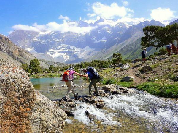 טרק בהרי פמיר, טג'יקיסטן