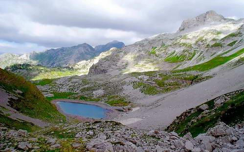 אלבניה, הרי האלפים