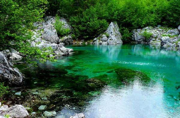 מעיינות קרסטיים, אלבניה
