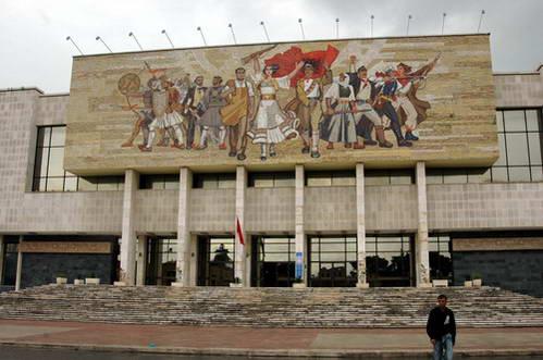 המוזיאון ההיסטורי בכיכר סקנדרבג, אלבניה