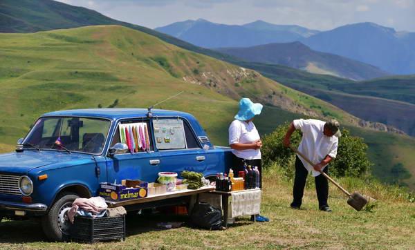 טיול הליכה בארמניה