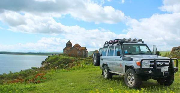 ג'יפים בארמניה, אגם סוואן