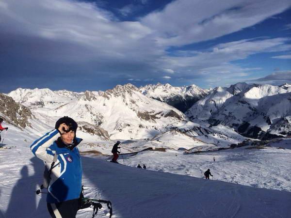אתר הסקי סט אנטון, סקי באוסטריה