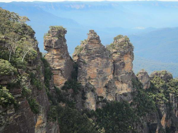 שלושת האחיות, ההרים הכחולים, אוסטרליה